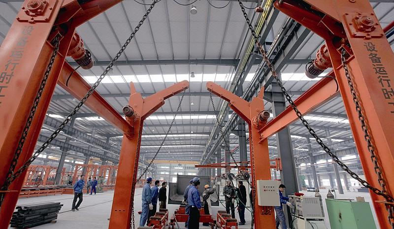 钢管生产车jian