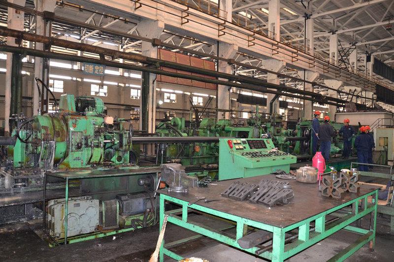 钢管加工生产车jian